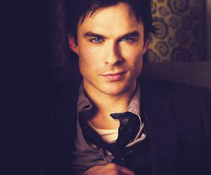 damon, Hot, and keep calm image