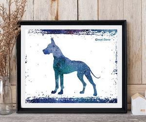dog, etsy, and nursery decor image