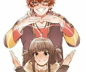 Mc, 707, and mystic messenger image