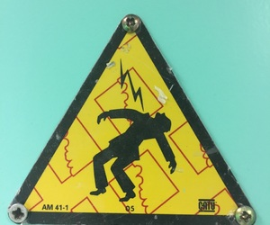 danger, death, and electric image