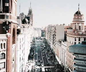architecture, city, and madrid image