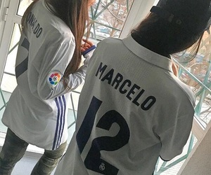 girls, real madrid, and soccer image