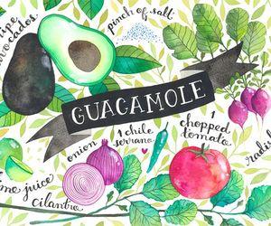 guacamole, art, and drawing image