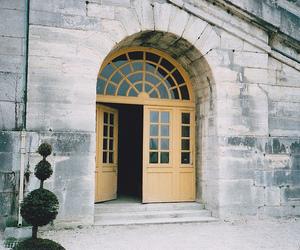 vintage and door image