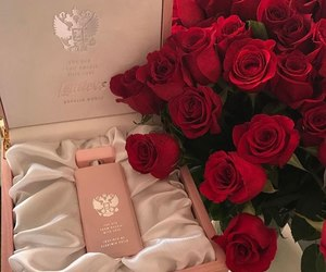 flowers, makeup, and love image