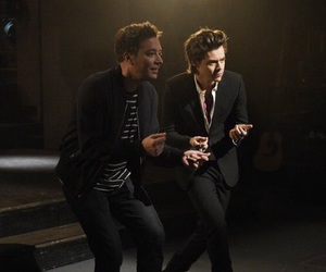 Harry Styles, snl, and jimmy fallon image