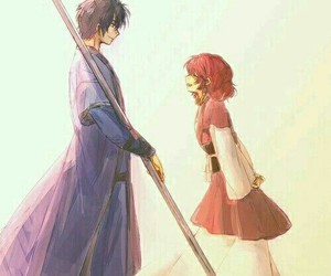 akatsuki no yona, yona, and hak image