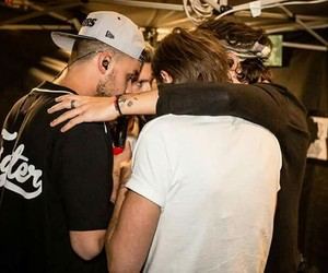 one direction, Harry Styles, and louis tomlinson image