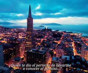 city, landscape, and frases image