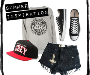summer, clothes, and converse image