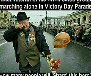 sad and veteran image