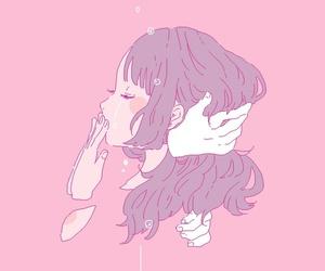 aesthetic, minimalism, and pink image
