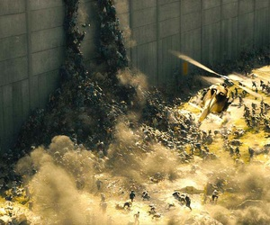 brad pitt and world war z image