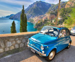 Amalfi coast, capri, and Naples image