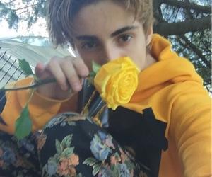 boy, yellow, and aesthetic image
