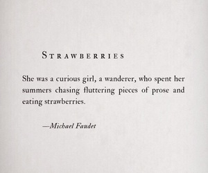 quotes, strawberry, and poetry image