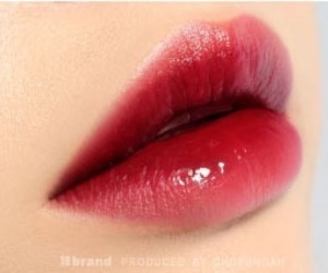 lips, asian, and cherry image