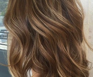 brunette, hair, and haircut image