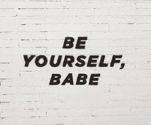 quotes, be yourself, and love image