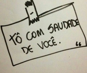 saudades and frases image