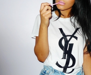 girl, YSL, and style image