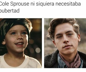 cole, funny, and sprouse image