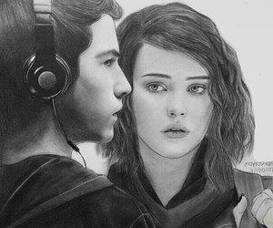 drawing and 13 reasons why image