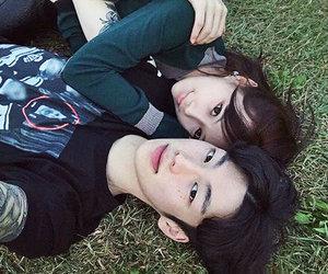 love, couple korean, and tumblr image