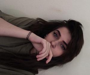 black, brown, and choker image