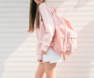kfashion, pink, and fashion image