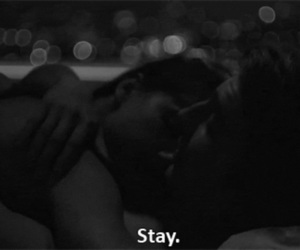 love, stay, and couple image