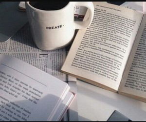 coffee, comfy, and read image