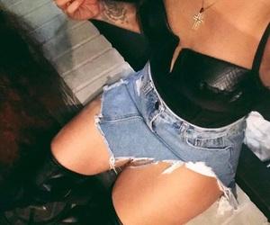 corset, inked, and fashion image