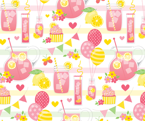 background, juicy, and lemonade image