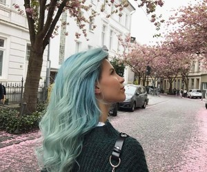 blue and dye image