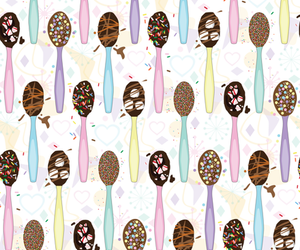 background, chocolate, and food image