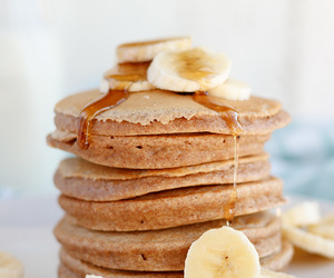 whole wheat, breakfast, and pancakes image