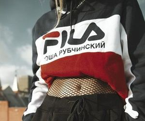 fashion, style, and Fila image