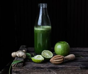 drink, green, and healthy image