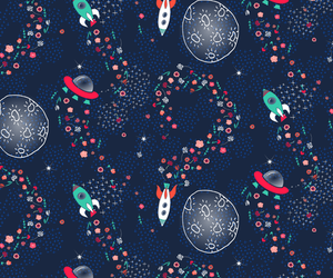 galaxy, pattern, and space image