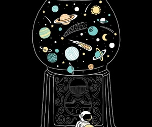 drawing and planets image