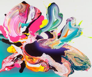 art, paint, and yago hortal image
