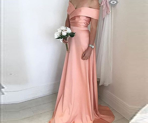 dress, pink, and love image