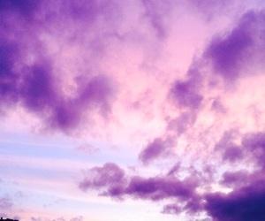 purple, sky, and wallpaper image