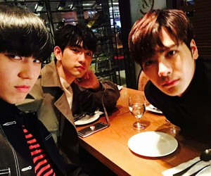 kpop, jinyoung, and jackson wang image