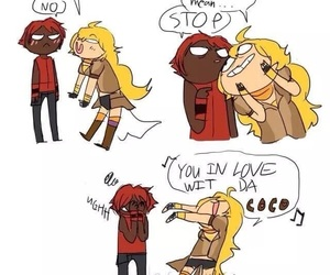 funny and rwby image