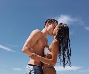 bathingsuits, beach, and fun image