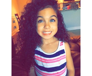 beautiful, curly, and cutie image