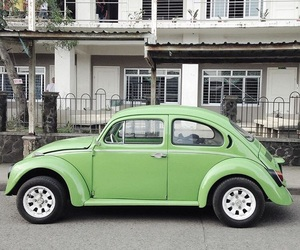 car, green, and little image