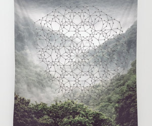 etsy, sacred geometry, and geometric tapestry image
